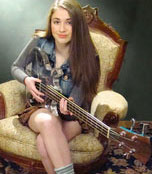 Brigid Harrington Barnegat Teen top vote-getter with original song