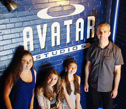 Brigid records at Avatar Studios