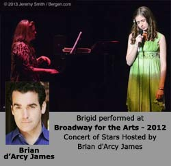 Brigid Harrington Concert of Stars 2012