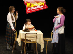 Brigid and Shannon Harrington in Broadway World