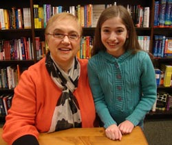 Brigid Harrington and Chef Lidia Bastianich